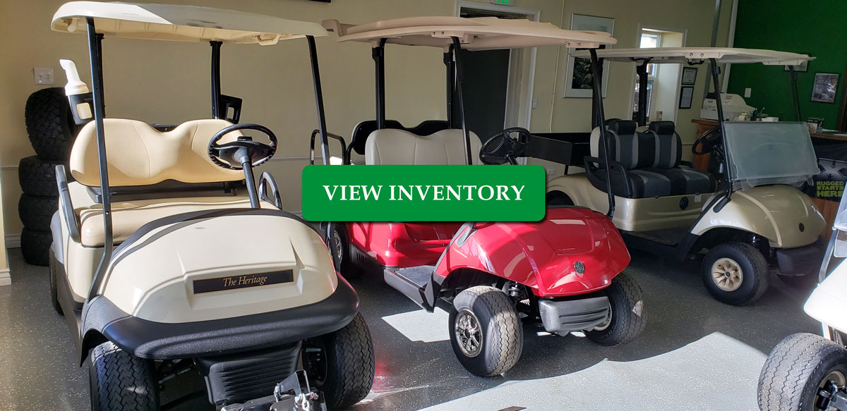 our golf cart inventory